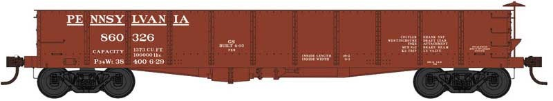 HO Scale: PRR GS Gondola Announced