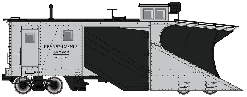 HO Scale: Walthers Russell Snow Plow Re-Run Announced