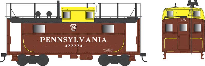 HO Scale: PRR N5 Cabin Cars Announced