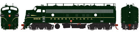 HO Scale: Genesis EMD FP7 Run Announced