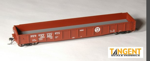 HO Scale: New Run of Tangent PRR G31B Gondolas