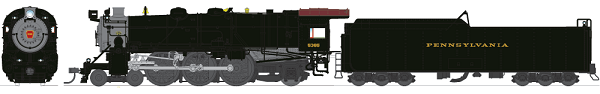 HO Scale: PRR K4s Re-run Announced (with a twist)