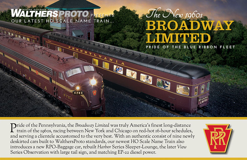 HO Scale: PRR 1960's Broadway Limited Announced