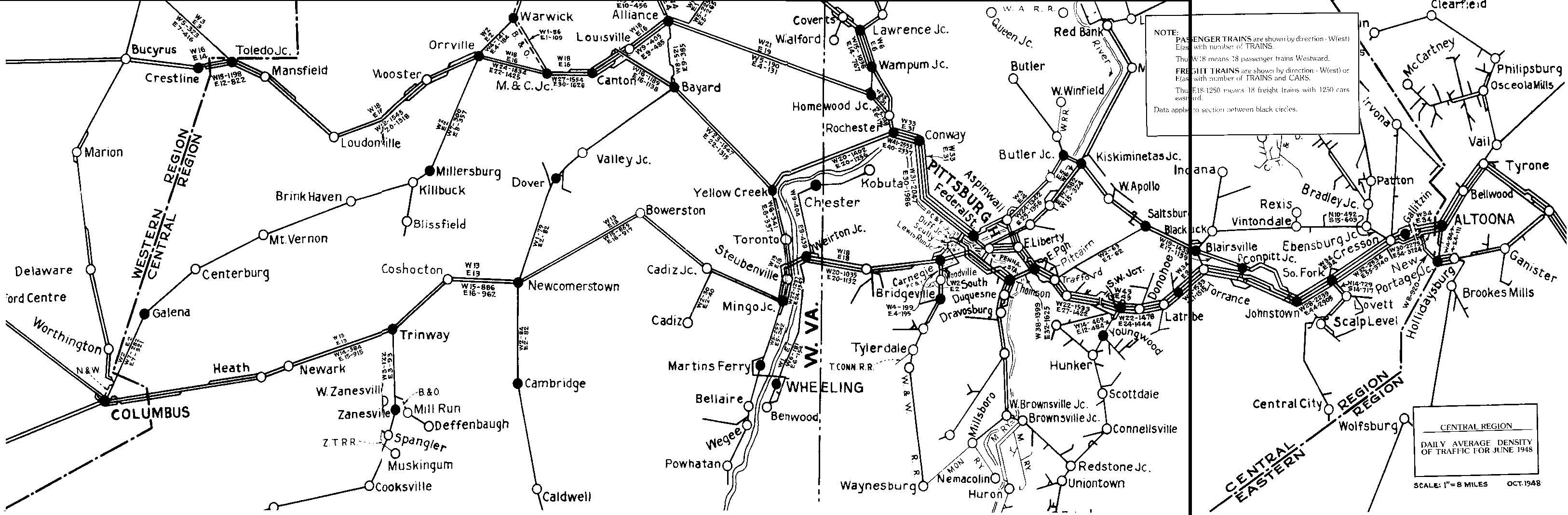 Keystone Crossings General Map Chart Information